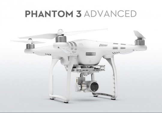 DJI Phantom 3 advanced 1080-2.7k  v3